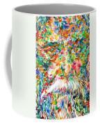 Tagore - Watercolor Portrait Coffee Mug