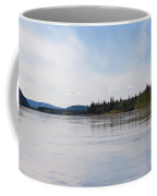 Taiga Hills At Yukon River Near Dawson City Coffee Mug