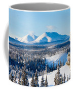 Taiga Winter Snow Landscape Yukon Territory Canada Coffee Mug