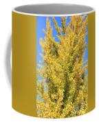 Tall Ginkgo Tree Coffee Mug