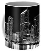 Tampa Black And White  Coffee Mug