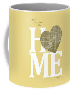 Tampa Street Map Home Heart - Tampa Florida Road Map In A Heart Coffee Mug