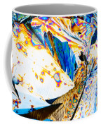 Tartaric Acid Crystals In Polarized Light Coffee Mug