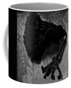 Tassled Vintage Skeleton Keys Coffee Mug