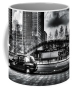Taxi At Canary Wharf Coffee Mug