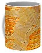 Technology Abstract Background Coffee Mug