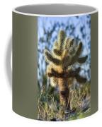 Teddy Bear Cholla Coffee Mug