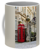 Telephone Box In London Coffee Mug