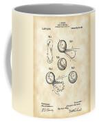 Tennis Ball Patent 1914 - Vintage Coffee Mug