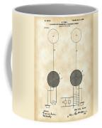 Tesla Electric Transmission Patent 1900 - Vintage Coffee Mug