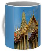 Thai-khmer Pagoda At Grand Palace Of Thailand In Bangkok Coffee Mug