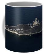 The Aircraft Carrier Uss John C Coffee Mug