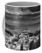 The Alhambra And Albaycin In Granada Coffee Mug