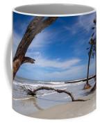 The Beach At Hunting Island State Park Coffee Mug