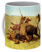 The Buffalo Hunt Coffee Mug
