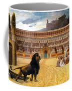 The Christian Martyrs' Last Prayer Coffee Mug by Jean Leon Gerome