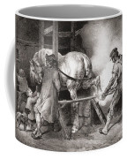 The Farrier, From Etudes De Cheveaux Coffee Mug