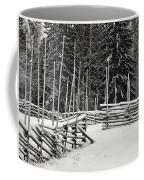The Fence Of Kovero Coffee Mug