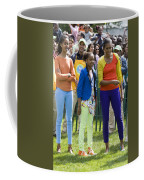 The First Lady And Daughters Coffee Mug