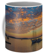 The Harbor At Sunrise Coffee Mug