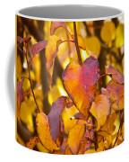 The Heart Of Fall Coffee Mug