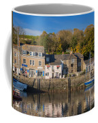 The Inner Harbour At Padstow Coffee Mug