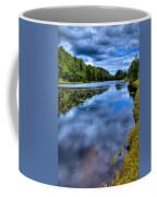 The Majestic Bald Mountain Pond Coffee Mug