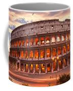 The Majestic Coliseum - Rome - Italy Coffee Mug