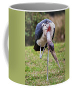 The Marabou Stork In Tanzania. Africa Coffee Mug
