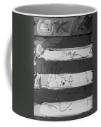 The Max Face In Black And White Coffee Mug
