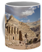 The Monastery El Deir Or Al Deir Coffee Mug