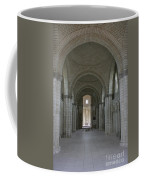 The Nave - Cloister Fontevraud Coffee Mug