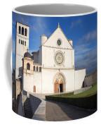 The Papal Basilica Of St. Francis Of Assisi  Coffee Mug