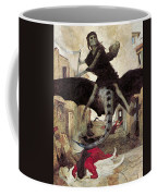 The Plague Coffee Mug by Arnold Bocklin