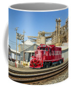 The Red Locomotive Coffee Mug
