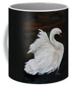 The Swans Of Albury Manor I Coffee Mug