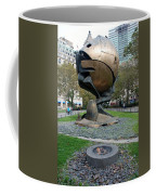 The W T C Plaza Fountain Sphere Coffee Mug