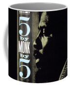 Thelonious Monk -  5 By Monk By 5 Coffee Mug
