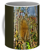 Thistle On Sunny Autumn Day Coffee Mug