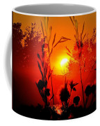 Thistles In The Sunset Coffee Mug