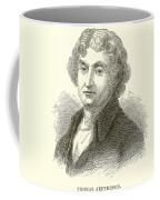 Thomas Jefferson Coffee Mug by English School