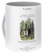 Thoreau Walden, 1875 Coffee Mug