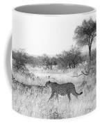 Three Cheetahs At Mashatu Coffee Mug