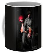 Three Clowns Having Fun Coffee Mug