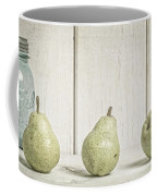Three Pear Coffee Mug by Edward Fielding