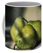 Three Pears Green Coffee Mug