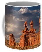Three Sisters Hoodoos Goblin Valley Utah Coffee Mug