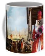 Tibetan Spaniel Art Canvas Print By Nobility Dogs Coffee Mug