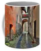 Tight Alley With A Bridge Coffee Mug