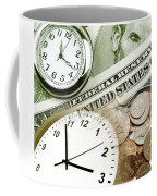 Time Is Money Concept Coffee Mug